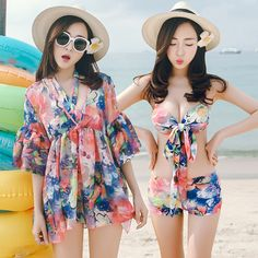 $25.61 (Buy here: https://alitems.com/g/1e8d114494ebda23ff8b16525dc3e8/?i=5&ulp=https%3A%2F%2Fwww.aliexpress.com%2Fitem%2FThe-new-female-swimsuit-three-piece-bikinis-small-chest-gather-cover-belly-thin-fashion-blouse-sexy%2F32695984492.html ) Swimming Suit For Women Retro Bikini Set Top Fashionable Beachwear Womens Bikinis 2016 Push Up Bk073 Polyester Maillot De Bain for just $25.61