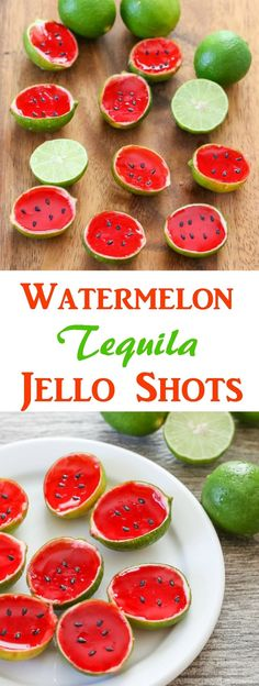 Watermelon Tequila Jello Shots | Kirbie's Cravings | A San Diego food & travel blog