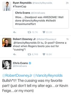 "beardedchrisevans: chris ""the cussing was my favorite part"" evans"