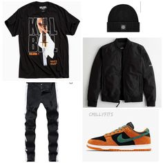 Dope Outfits For Guys, Swag Outfits Men, Winter Outfits Men, Stylish Mens Outfits, Boys Fashion Dress, Tomboy Fashion, School Fashion, Fashion Men, Hype Clothing
