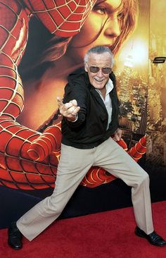The Life Of Marvel Superhero Stan Lee In Photos