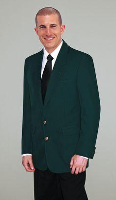 Hunter Green Sport Jacket.  www.JAlanFormalwear.com