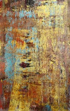 abstract acrylic painting by Jill Marie Greenhill #textures #