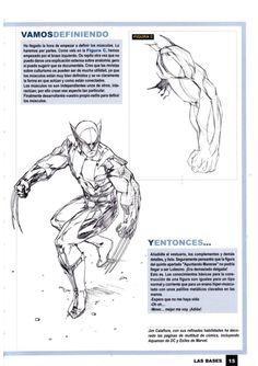 Aprende a dibujar comic vol 1 Comic Books, Anatomy, Art, Learn To Draw, Fighting Poses, Drawing Tips, Art Background, Kunst, Cartoons