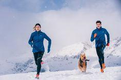 Blijven hardlopen in de kou
