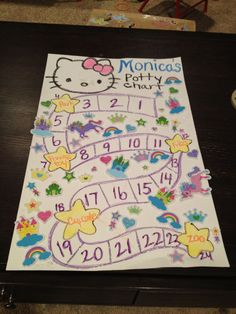 Rewards as you go potty chart Potty Training Rewards, Potty Training Girls, Toddler Fun, Toddler Activities, Time Out Bottle, Polo Lacoste, Raising Girls, Kids Corner, Diy For Girls