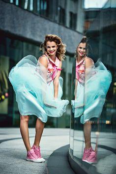 Justyna Banasiak – Konieczny for MissSpark Olympians, Athens, Tutu, Ballet Skirt, Mint, Dance, Celebrities, Drawings, Blouse