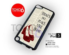 AJ 3309 Vintage There Is No Place Like Home - ipod 5 Case | toko6 - Accessories on ArtFire