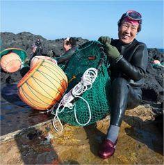 Haenyo--free diving grandmas of Jeju Island