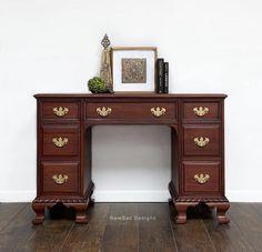 Georgian Cherry Desk | General Finishes Design Center