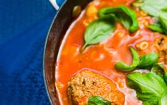 Lihapulla-minestrone Thai Red Curry, Dinner Ideas, Pasta, Ethnic Recipes, Food, Essen, Supper Ideas, Meals, Yemek
