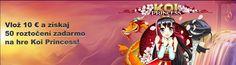 Novinky - Točenie zadarmo s Koi Princess