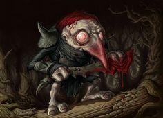 Murderous Redcap by DaveAllsop.deviantart.com on @deviantART