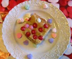 Mommy's Kitchen: M & M Oatmeal Bars for your Valentine's