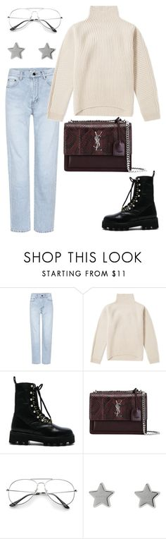 """Untitled #2086"" by kellawear on Polyvore featuring Yves Saint Laurent, Acne Studios, Altuzarra and Gucci"