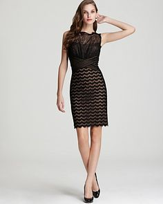 Tadashi Shoji Dress - Lace Sheath - Women's - Bloomingdale's#fn%3Dspp%3D1
