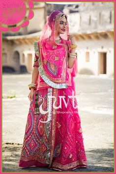 Rajasthani Bride Rajputi Dress Traditional Trends Indian Wedding Outfits Weddings Code Designer Collection India Beauty
