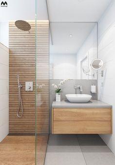 Ideas Bathroom Spa Small Bath For 2019 Bathroom Spa, Wood Bathroom, Bathroom Layout, White Bathroom, Small Bathroom, Bathroom Ideas, Master Bathroom, Bathroom Vanities, Silver Bathroom