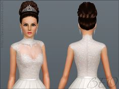 Wedding Dress 27 By Beo Sims 3 S Cc Caboodle 4