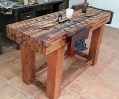Workbench - by Benji Reyes @ LumberJocks.com ~ woodworking community: