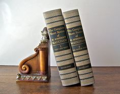 Vintage W Somerset Maugham Two Volume Set by cynthiasattic on Etsy, $35.00