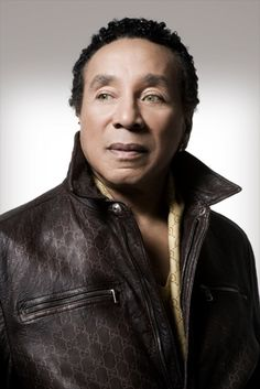 Ole Green Eyes himself, Smokey Robinson