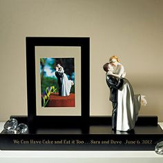 A Great Keepsake to Hold a Wedding Picture and your Cake Topper Figurine. Wooden Keepsake Display Stand - £24.99