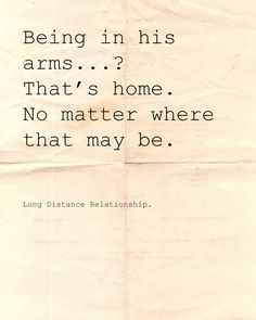 Long Distance Relationship. Love.
