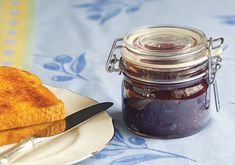 Enliven your favorite breakfast pastries with this lavender jam.