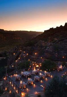 1 favorite African safari resort is Bushmans Kloof Wilderness Reserve & Wellness Retreat in Clanwilliam, South Africa. Oh The Places You'll Go, Places To Travel, Places To Visit, Outdoor Restaurant, Exploration, African Safari, Aerial Photography, Holiday Destinations, Wonders Of The World