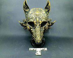 Wolf Maske Hund Maske Tier Maske Hundemaske Wolf Maskerade | Etsy Realistic Wolf Mask, Wolf Maske, Types Of Wolves, Blank Mask, Printable Masks, Dog Mask, Animal Masks, 3d Models, Cosplay