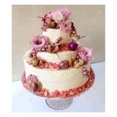 #pink #wedding #cake