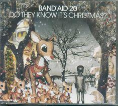 BAND AID 20: DO THEY KNOW IT'S CHRISTMAS CD SINGLE (2004) 3 TRACKS #Christmas