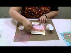 Mixed Media in Minutes: Working with Molding Paste with Julie Fei-Fan Balzer