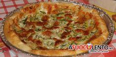 TORTA SALATA ZUCCHINE E TONNO #zucchine #tonno #afuocolento