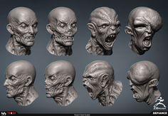 Mutant Head Sculpts
