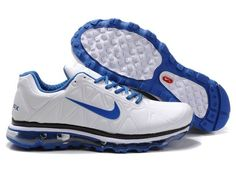 official photos 9ee6b 10b65 Nike Air Max 2011 Mens White Varsity Blue Leather