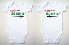 Hey, I found this really awesome Etsy listing at https://www.etsy.com/listing/171590810/fun-baby-clothes-twin-baby-clothes-she