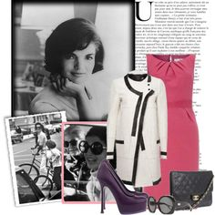 Jackie O Style.the classiest. Luv her style Jackie Oh, Jackie Kennedy Style, Jacqueline Kennedy Onassis, John Kennedy, 70s Outfits, Fashion Outfits, Love Her Style, Classy And Fabulous, Style Inspiration