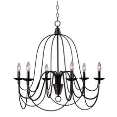 $131.99 Found it at Wayfair - 6 Light Candle Chandelier