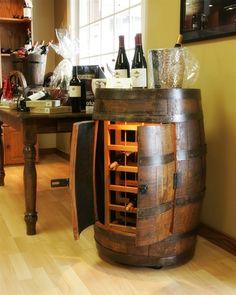 Wooden Wine Racks, Barrel Stave Wine Racks, Reclaimed Wood Furniture and Wine Gifts | California Vines