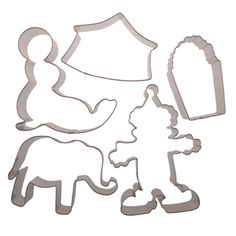 Circus Cookie Cutter Set - FR-36035
