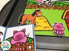 Farm theme apraxia activities offer an engaging way to elicit multiple repetitions of targets with children with apraxia or severe articulation needs.
