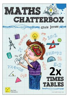 2x Times Tables Chatterboxes