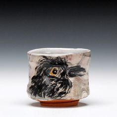 Ron Meyers. cup with bird