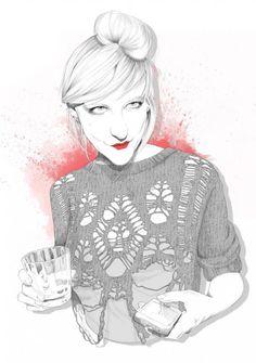 Fashion Illustrations by Leonardo Floresvillar