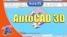 Curso de AutoCAD 3D - Aula 05 - Ferramentas de Modelagem Parte 2 - Autoc...