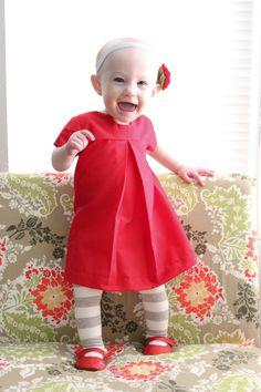 delia creates: Natalie's Christmas Dress