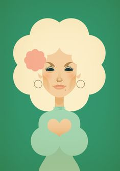 Dolly Parton art poster / print