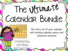 The Teachers' Cauldron: The ULTIMATE Calendar Bundle